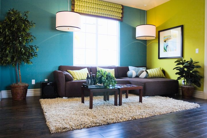 Interior wall colors living room