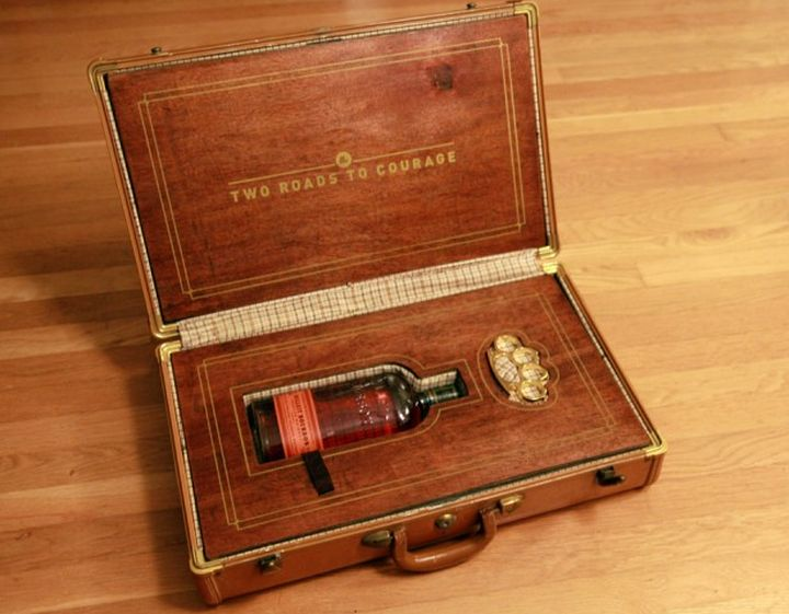 Эксклюзивная упаковка алкоголя для шефа