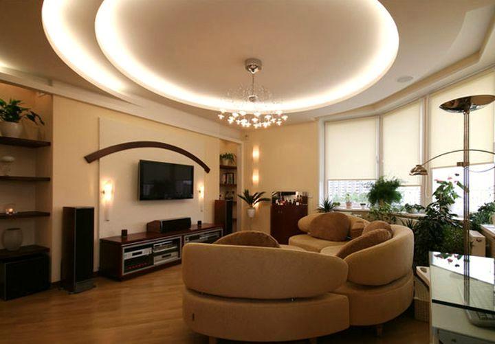 Эффектное освещение комнаты