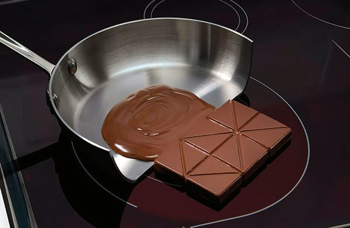 Ненагревающаяся поверхность индукционной плиты
