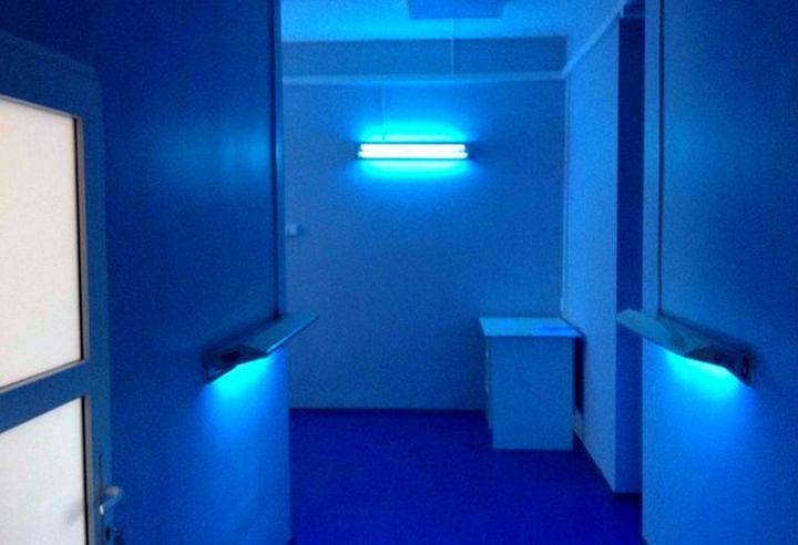 Применение кварцевых ламп для дезинфекции помещения