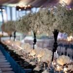 Фото 17: Венки из гипсофилы на свадьбе