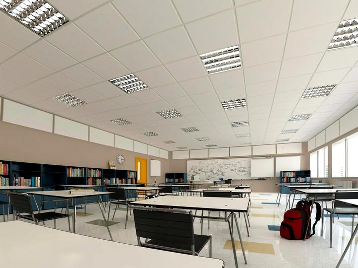 Встраиваемые светильники для потолка Армстронг