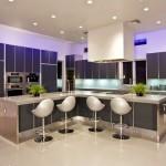 Дизайн потолка на кухне (10)