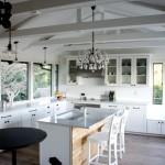 Дизайн потолка на кухне (15)