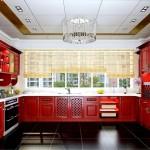 Фото 22: Дизайн потолка на кухне