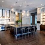 Дизайн потолка на кухне (16)