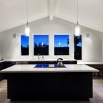 Дизайн потолка на кухне (21)