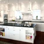Дизайн потолка на кухне (23)