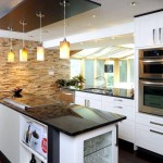 Дизайн потолка на кухне (6)