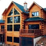 Фото 4: Дом из бруса с балконом