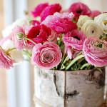 Фото 11: Живые цветы пионы