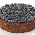 Фото 29: Шоколадный торт с голубикой