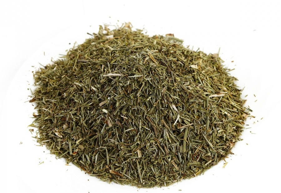 Сухая трава хвоща полевого
