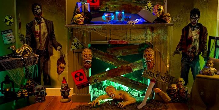 украшение на Хэллоуин своими руками (2)