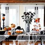 Фото 11: Украшение столовой к Хэллоуину