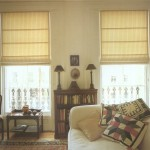Фото 10: Римские шторы в гостиной