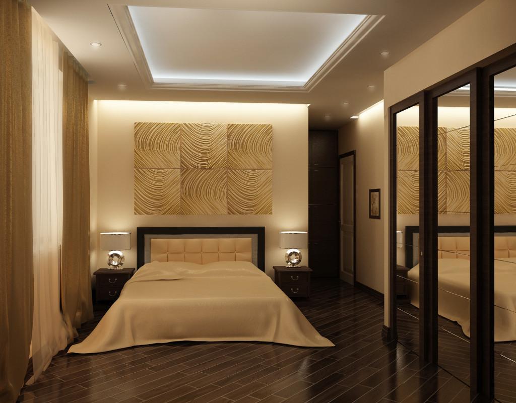 Готовый ремонт спальни