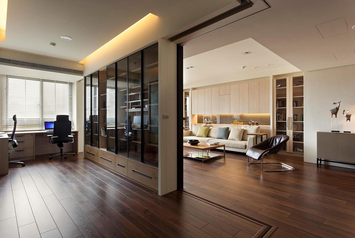 Дизайн современных перегородок в квартире
