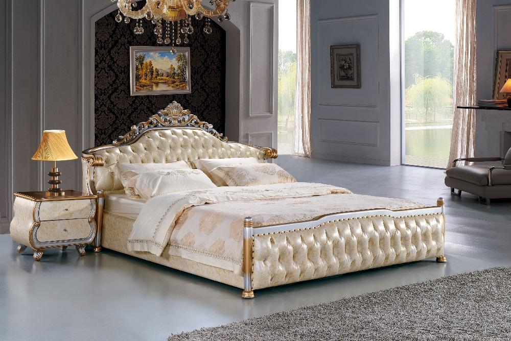 Королевская двуспальная кровать