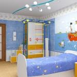 Нежная комната для мальчика