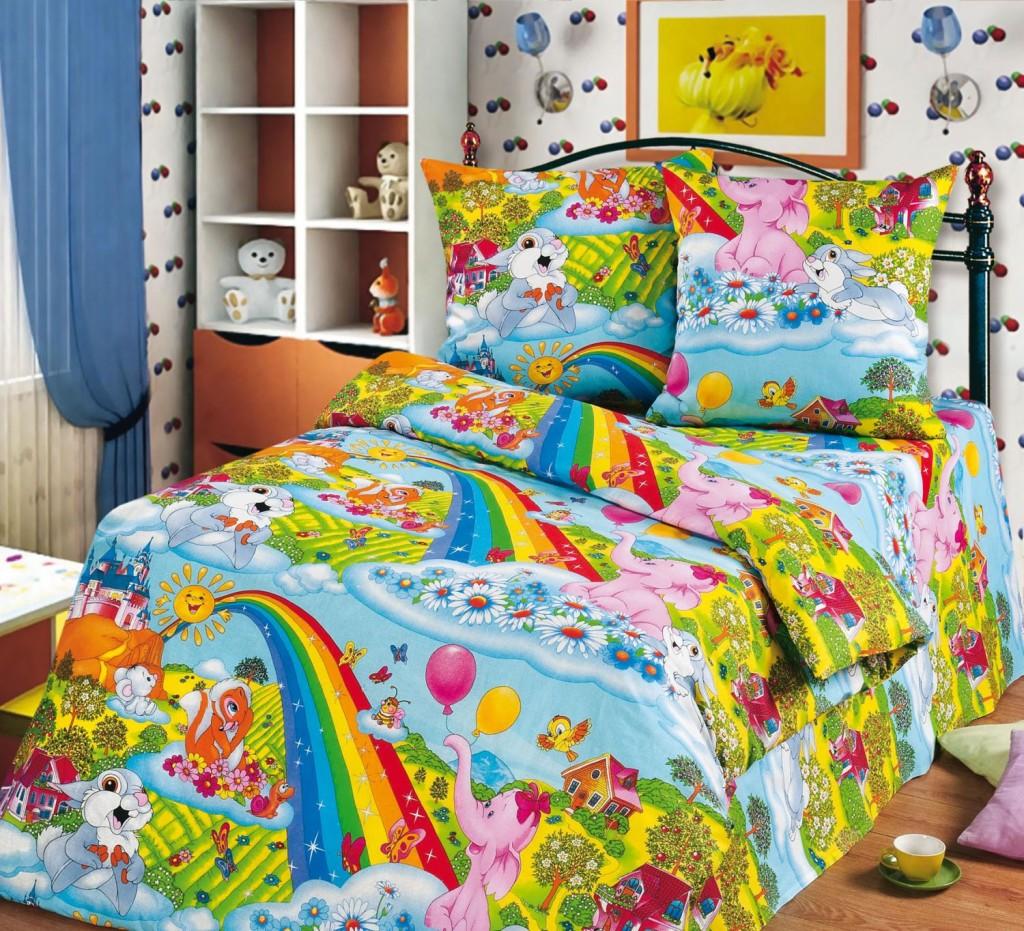 Радужное постельное белье