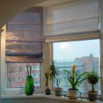 Фото 2: Римские шторы