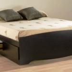 Фото 20: Высокая двуспальная кровать