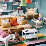 Детская с множеством мебели