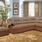 Фото 24: Золотой оттенок дивана