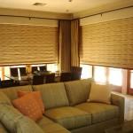 Фото 26: Римские шторы в маленькой гостиной