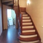 Фото 25: Лестница из дерева