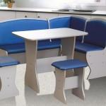 Голубые тона мебели