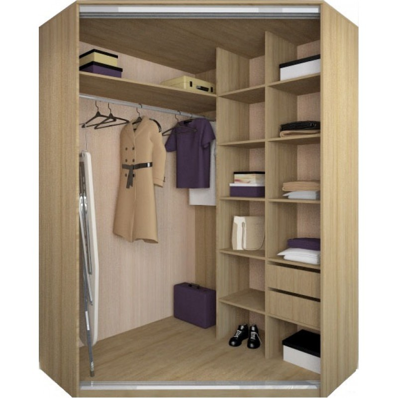 Шкаф для одежды угловой