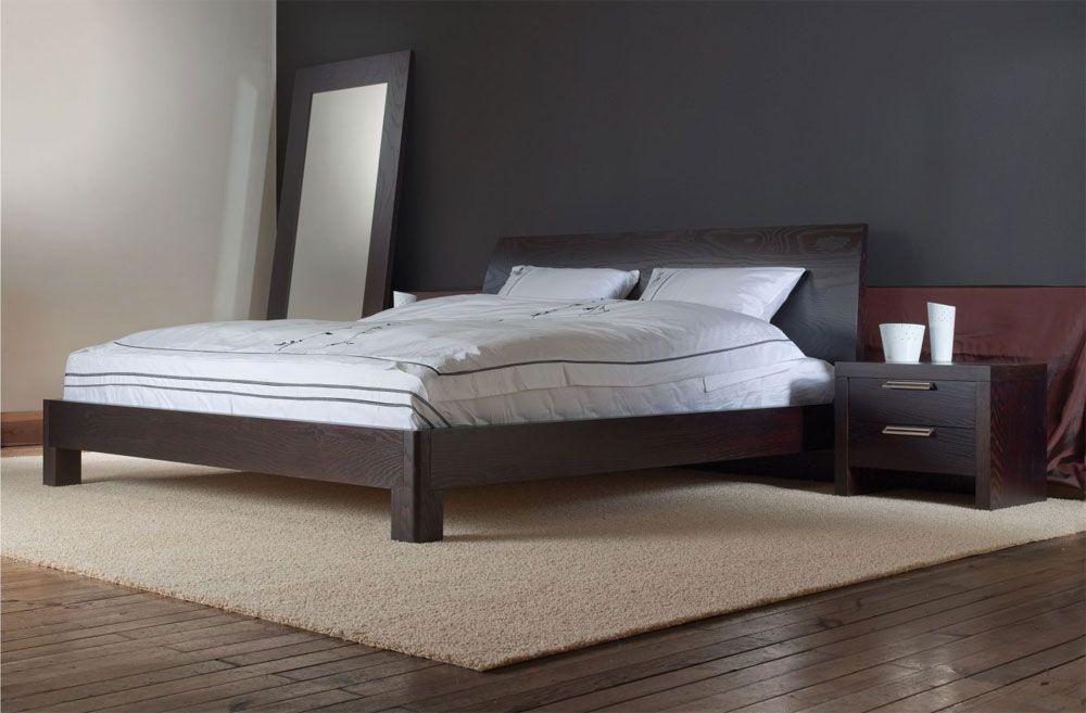 Двуспальная кровать сочетание