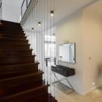 Стильный дизайн лестницы