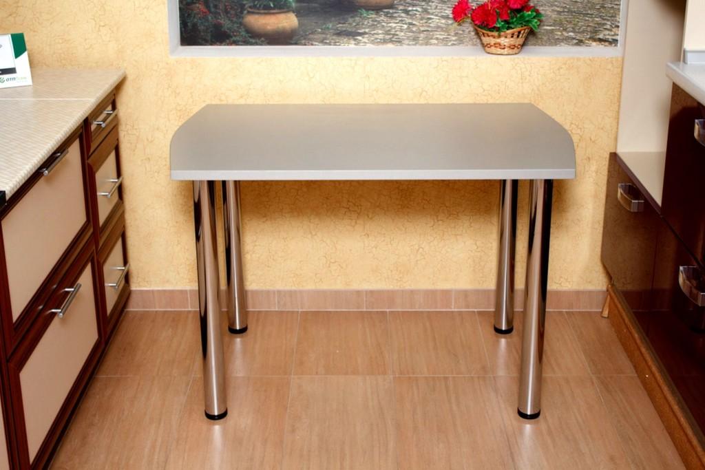 Узкий стол