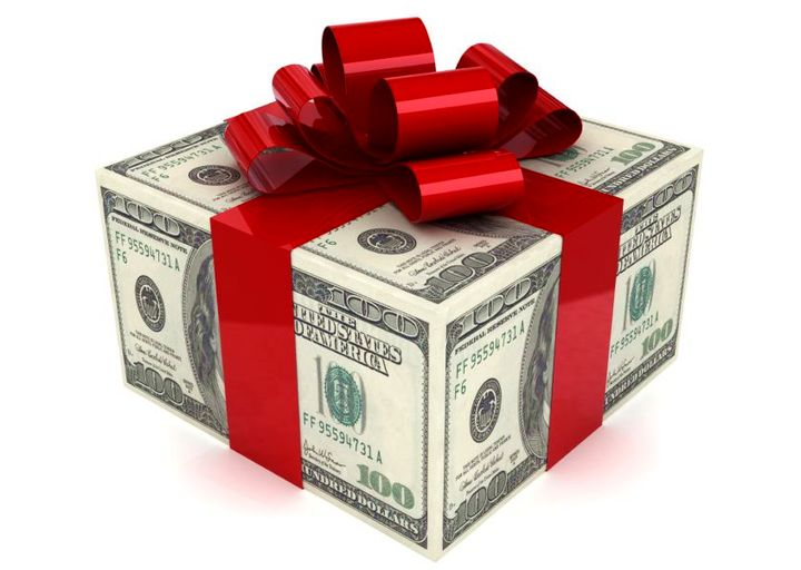 Цена подарка для мужа