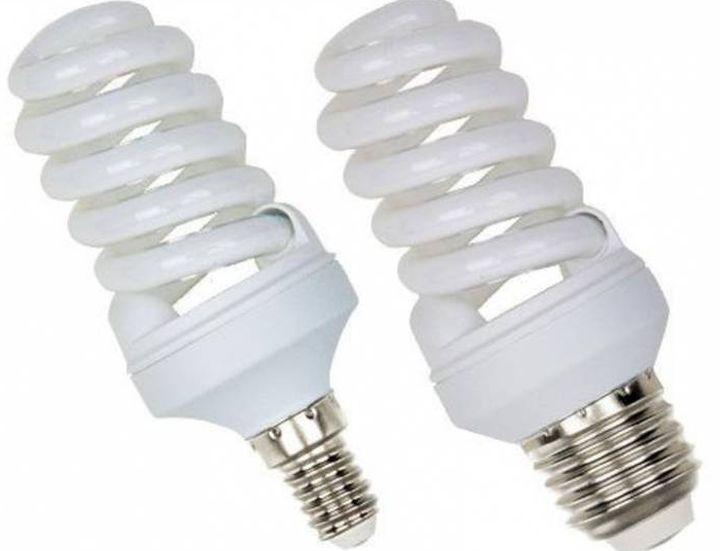 Наиболее часто используемые цоколи энергосберегающих ламп