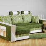 Фото 8: Зеленый цвет дивана
