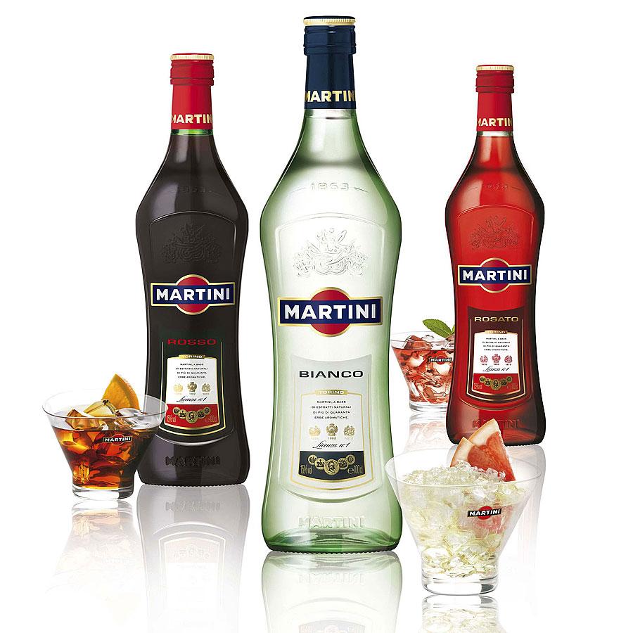 Отличный подарок мартини
