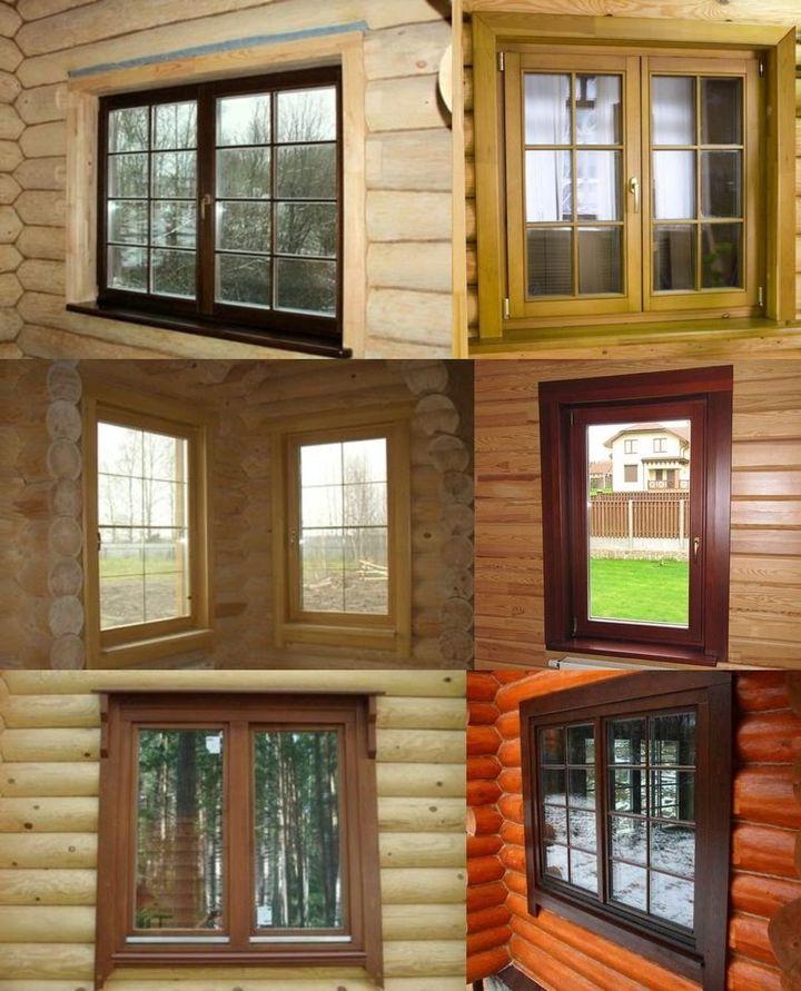Наличники окон в деревянном доме фото своими