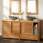 Фото 7: Мебель для ванной в стиле Икеа