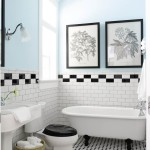Фото 12: Бело-голубая ванная