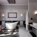 Фото 10: Ванная комната в стиле модерн