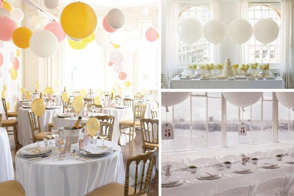 Свадебные воздушные шары