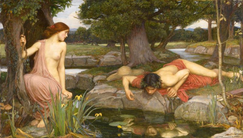 Миф о самолюбовании Нарцисса