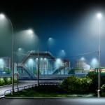 Фото 27: Уличное люминесцентное освещение