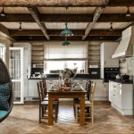 Фото 19: Скандинавский стиль кухни в интерьере дома
