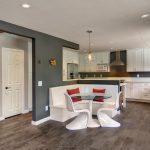 Фото 76: Зонирование небольшим кухонным уголком